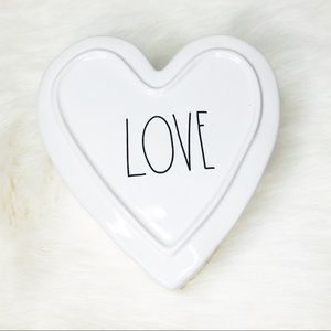 Rae Dunn LOVE Heart Jewelry Box
